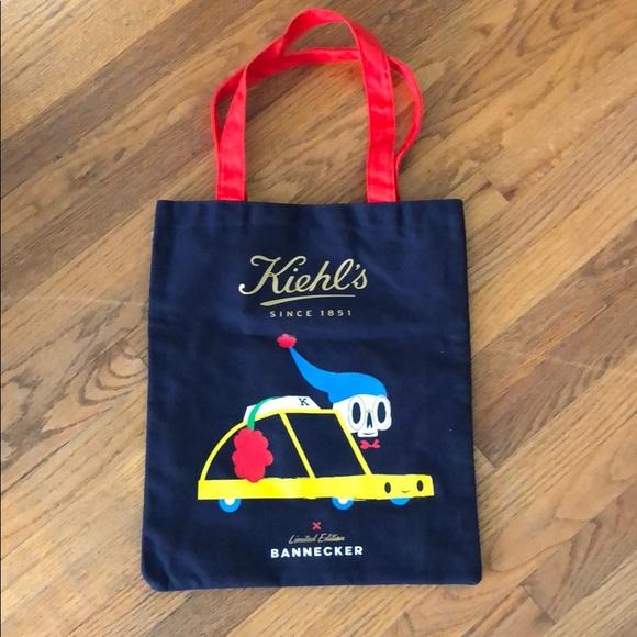 202bd30fb5 Handbags - Kiehl s limited edition bannecker holiday tote bag